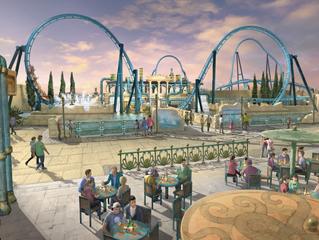 Confira o andamento da nova área do parque Energylandia!
