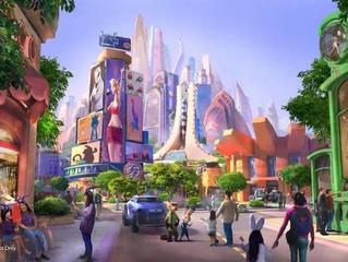 Zootopia terá uma área temática no Shanghai Disneyland.