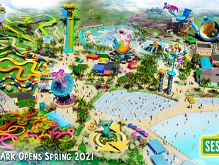 SeaWorld anuncia parque temático da Vila Sésamo para 2021.