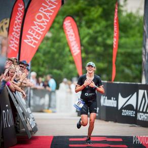 IRONMAN Texas North American Champs podium