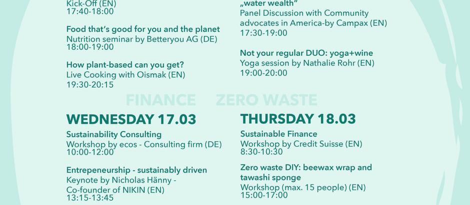 Sustainability Week St. Gallen 2021