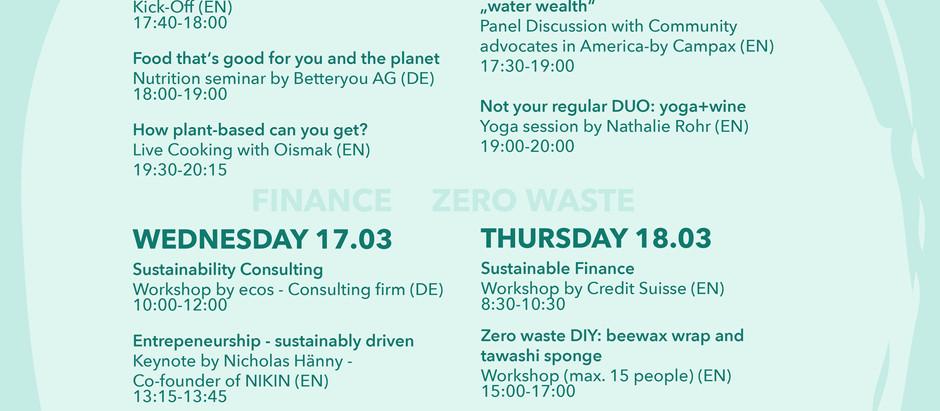 Throwback Sustainability Week 2021