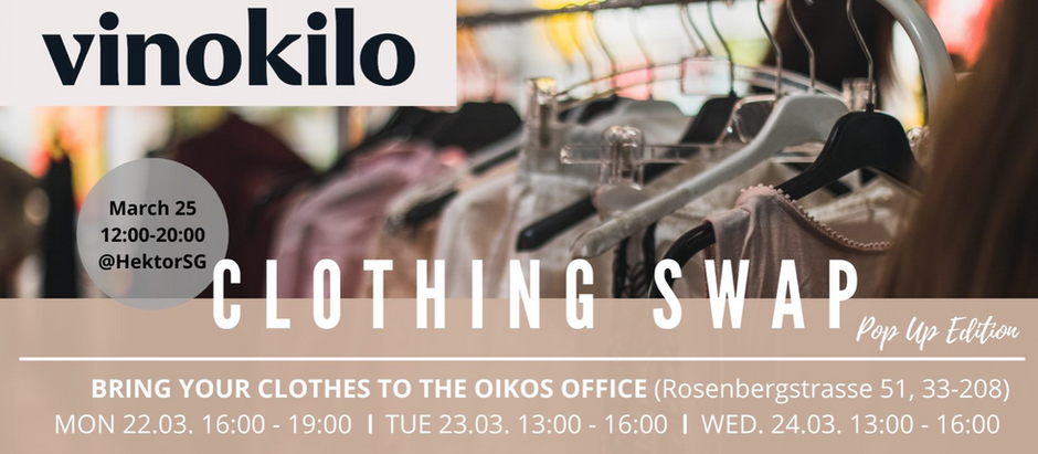 Un-Dress x Vinokilo Clothing Swap