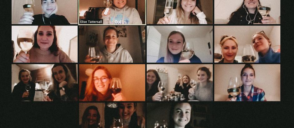 Organic wine tasting