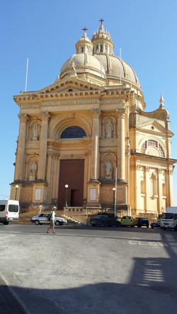 Xewkija Magnificent church and dome