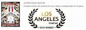 Cartas de una madre en Los Angeles CineFest