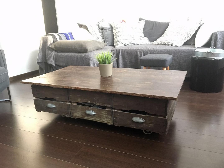 Fabrication d'un table
