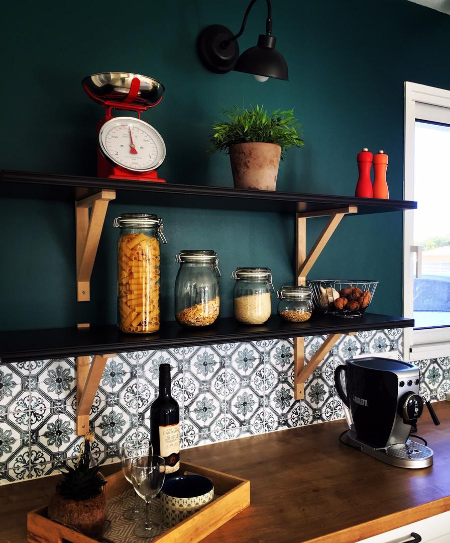 Décoration et aménagement d'une cuisine (2019)