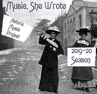 Music She Wrote AMP Season Announcement.
