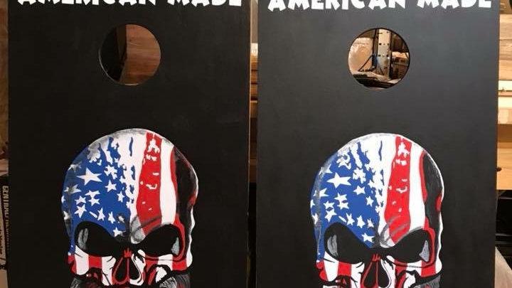 Custom Hand Painted Cornhole Boards