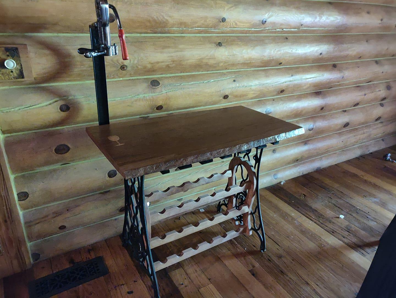 Wine Table With Cork Screw.jpg