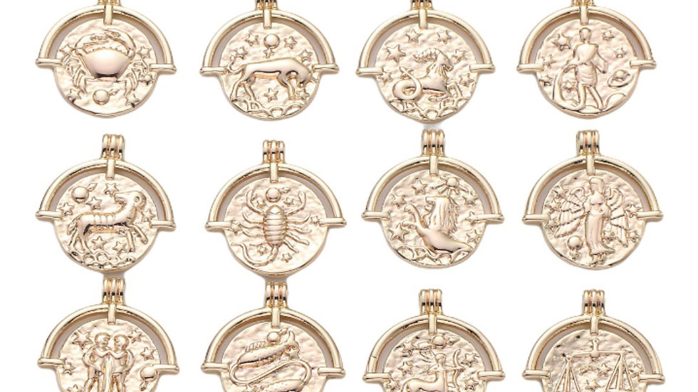 Gold Filled Zodiac Necklace