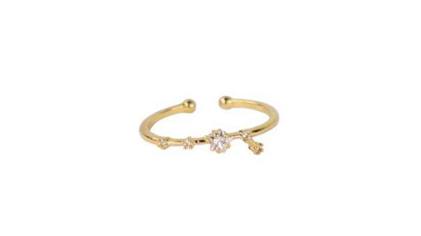 Aries Constellation Ring