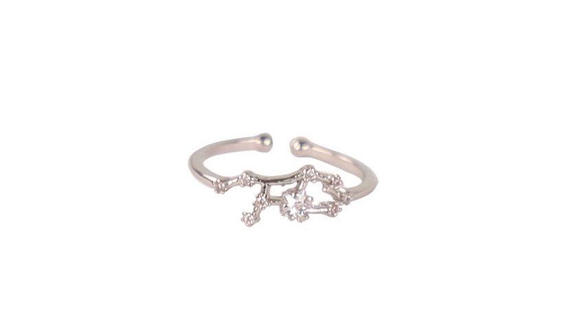 Virgo Constellation Ring