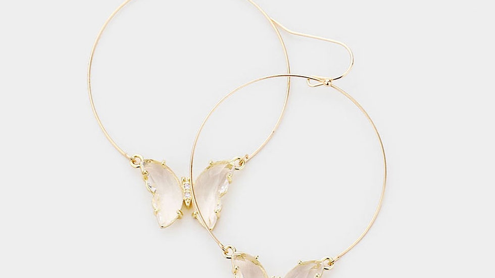 Butterfly Hoops - all colors