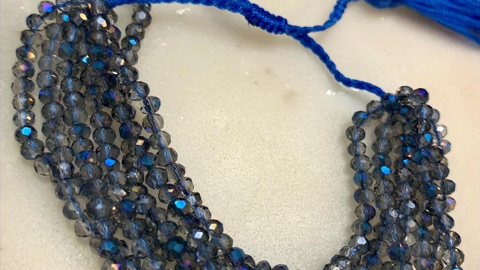 Periwinkle Beaded Bracelet