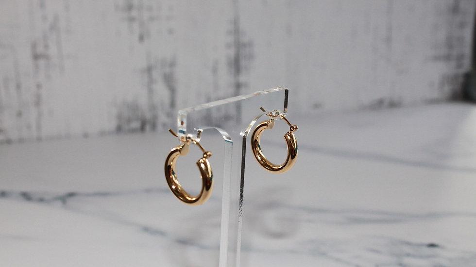 Mini Gold Filled Hoop Earrings