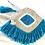 Thumbnail: Turquoise Fringe Evil Eye Clutch
