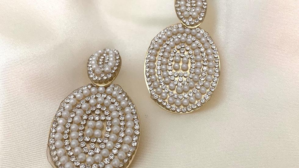 """Lola"" Pearl Earrings"