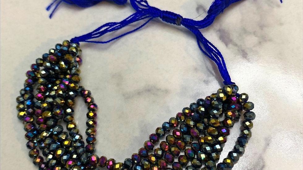 Royal Tassle Beaded Bracelet