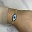 """Thumbnail: """"Arissa"""" Gold Evil Eye Bracelet"""