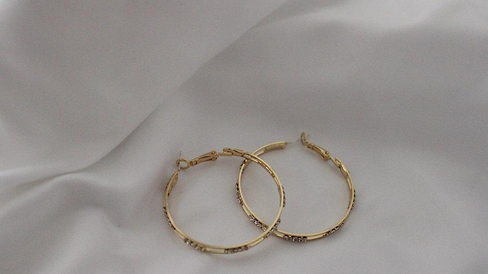 """""""Margot"""" Hoop Earrings"""