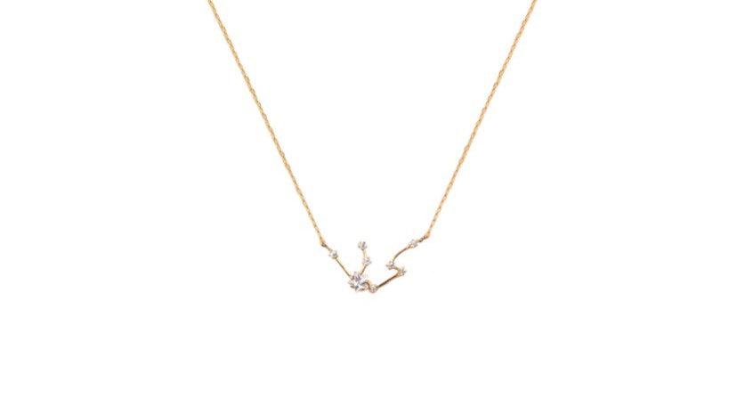 Aquarius Constellation Necklace