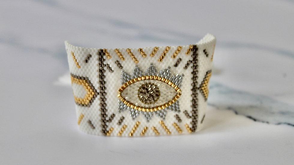 """Kerkyra"" Evil Eye Bracelet"