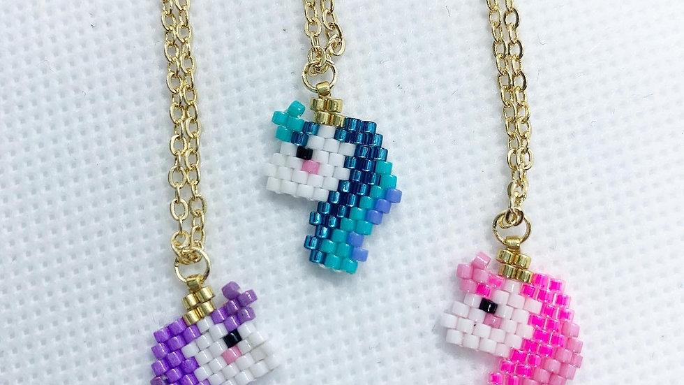 Unicorn Necklace- multiple colors!
