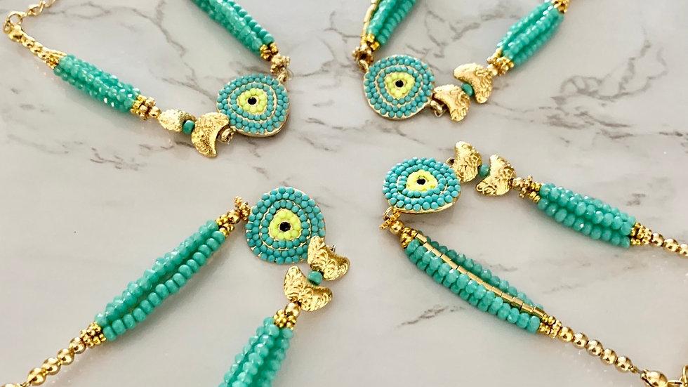 """Kora"" Turquoise Bracelet"