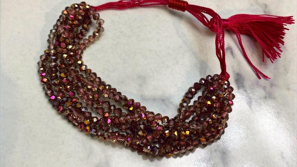 Berry Beaded Bracelet