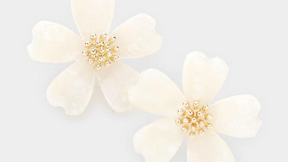 """""""Louloudi"""" Flower Earring"""