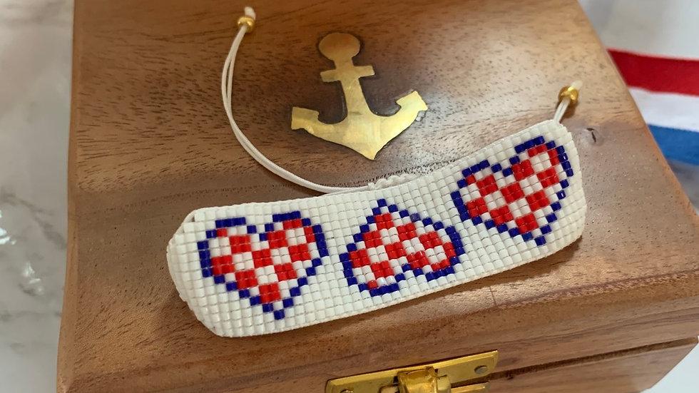 """""""Hrvatsko Srce"""" Adjustable Bracelet"""