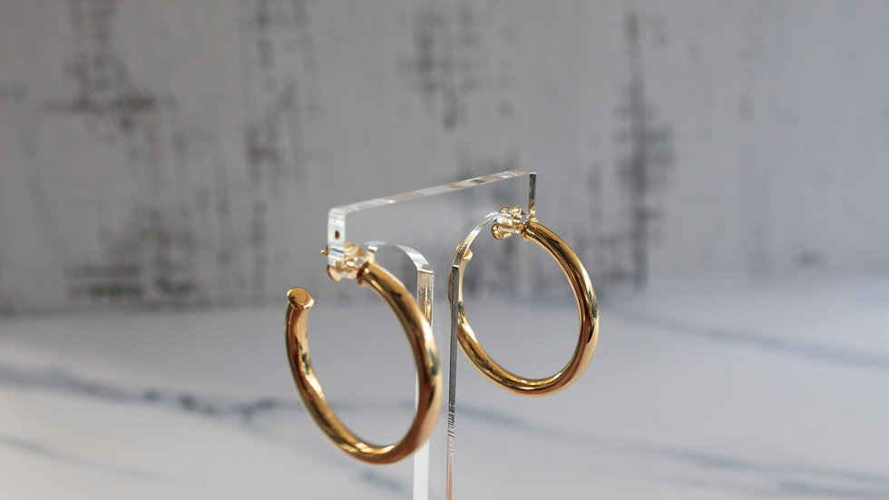 Open Gold Filled Hoops