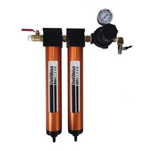 DevilBiss® DAD-PRO™ Camair® 130536 2-Stage Filter Assembly, 1/2 in NPT, 50 cfm,