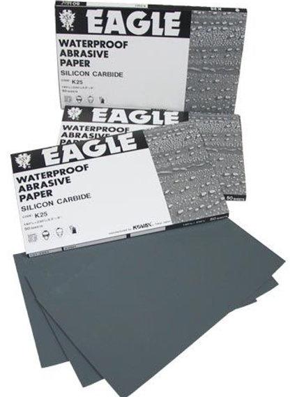 KOVAX® 131-0600 Sanding Sheet, 5-1/2 in W x 9 in L, 600 Grit, P600-A Grade, Sili