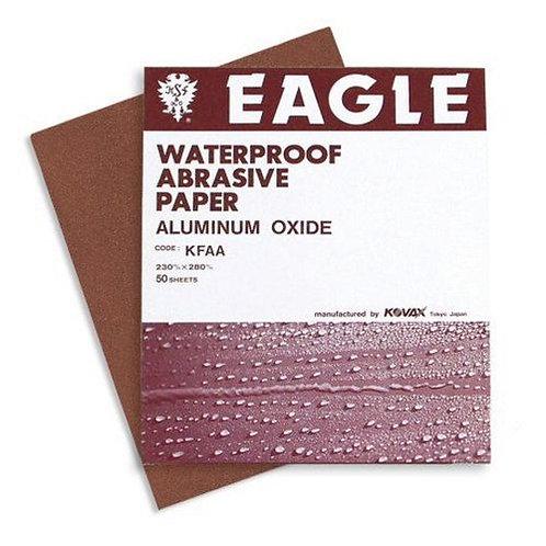 KOVAX® 105-0600 Sanding Sheet, 9 in W x 11 in L, 600 Grit, P600-A Grade, Aluminu