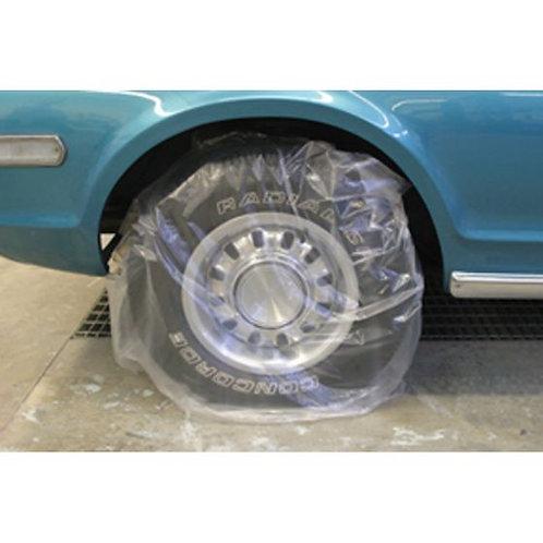 """Plastic Wheel Maskers, Size: 45"""" X 40"""", 50/pkg"""