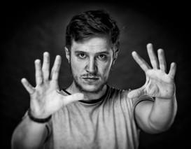 Luke Bischof Portrait Schauspieler