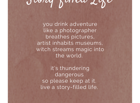 Story-filled life