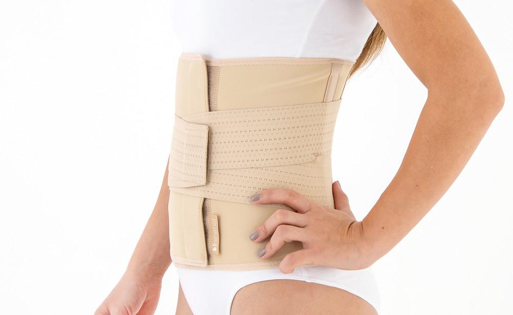 la grande ceinture de grossesse à éviter car bloque le mouvement des lombaires.