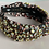 Thumbnail: Ditzy Floral Headband with Iridescent Crystals