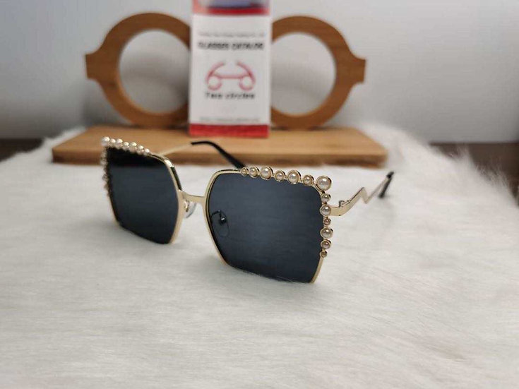 Pearl Trimmed Sunglasses VII