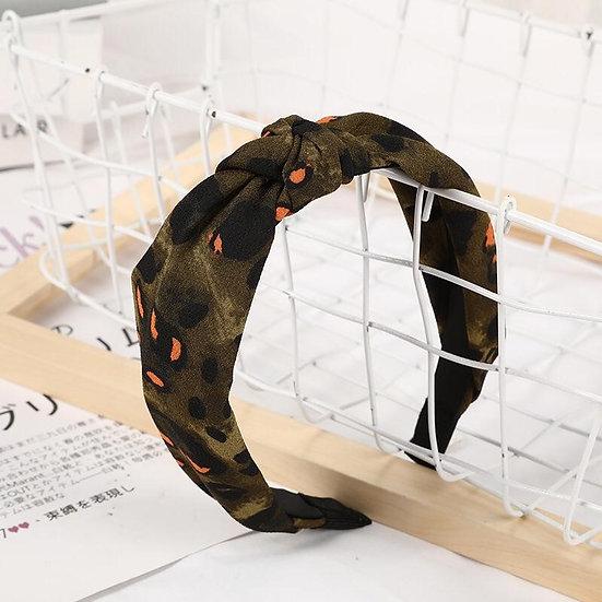 Camo Leopard Headband