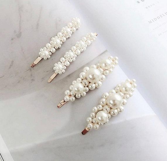 Pearl Daisy Bobby Pins