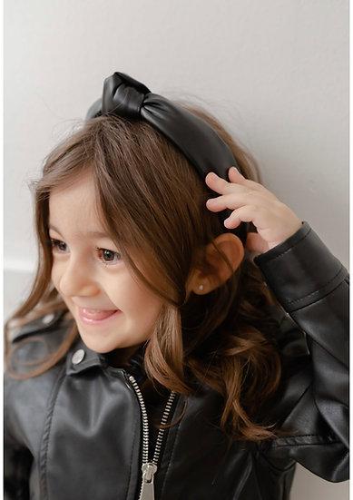 MINI Faux Leather Headband