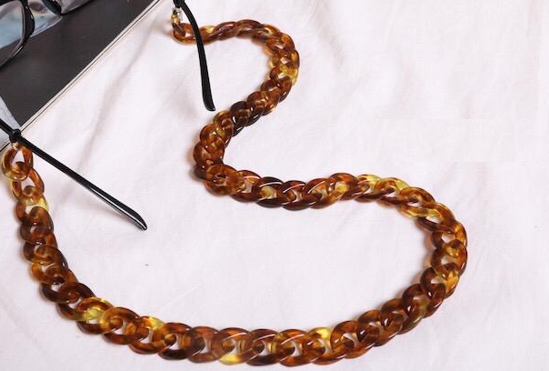 Sunglass Chain- Acrylic Chain Link