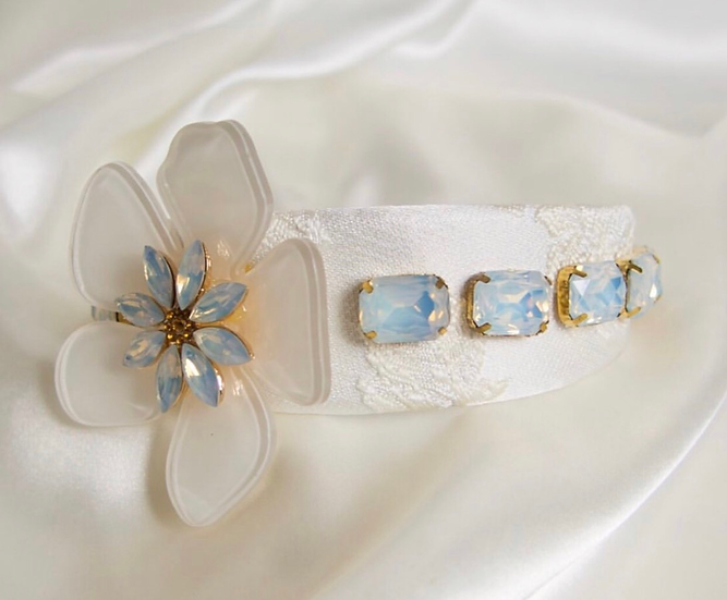 So Dolce Flora and Lace Headband