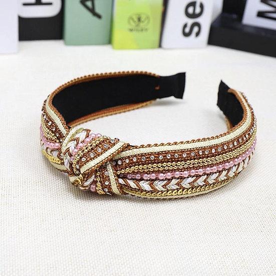 So Boho- Sequin Embellished Headband