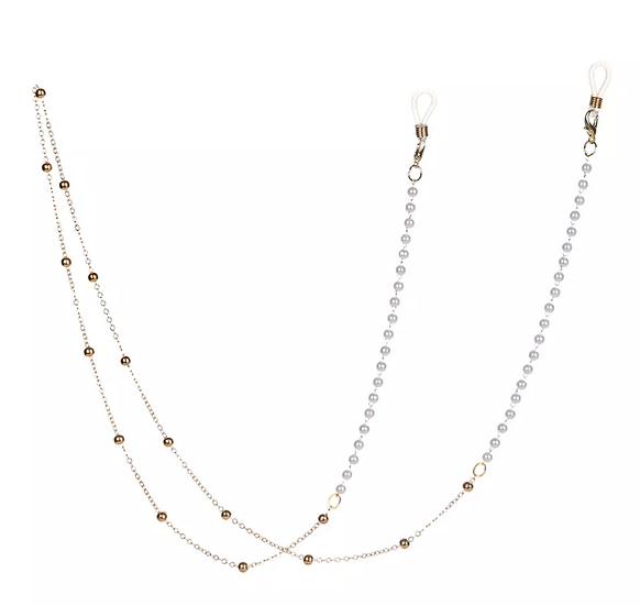 Dainty Pearl Sunglass Chain